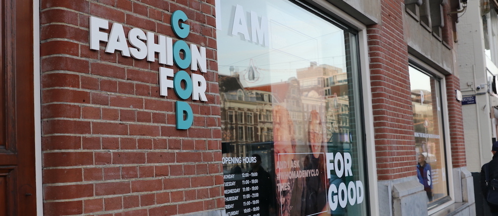 Visit Fashion for Good and learn about sustainable fashion!
